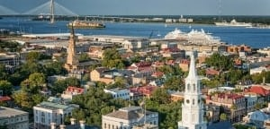 Charleston SC Aerial View