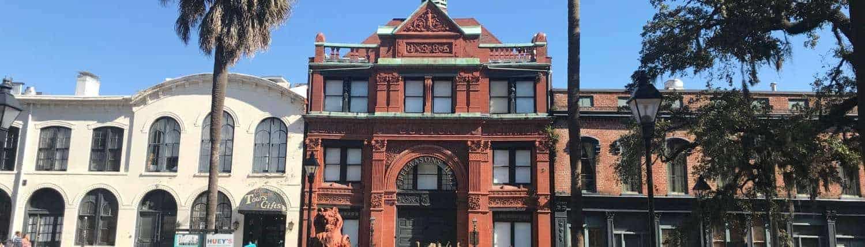 cotton exchange building, savannah