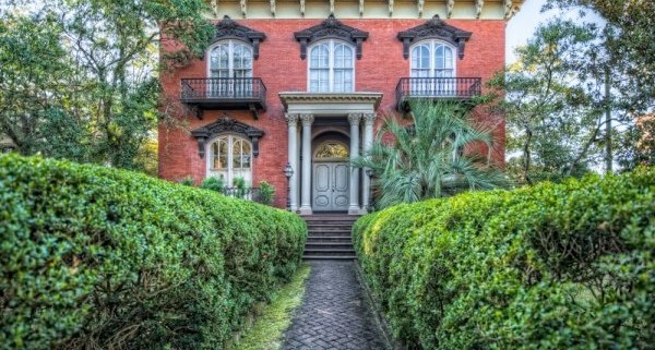 savannah historic homes walking tour