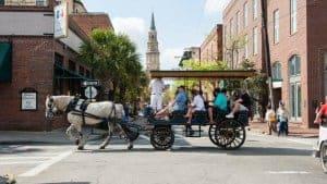 charleston sc carriage tour