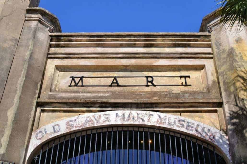 slave mart museum - charleston