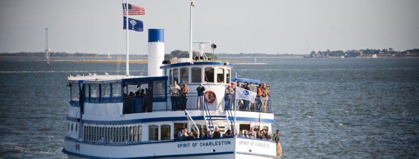 charleston harbor tour by SpiritLine