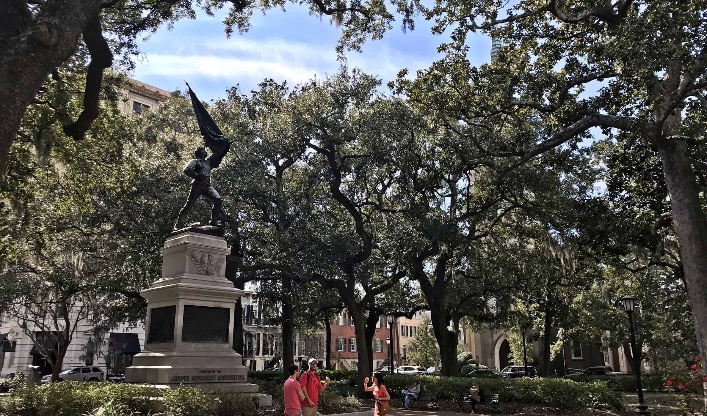 savannah historic square