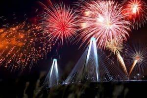 fireworks in charleston sc