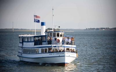 charleston harbor tour by SpiritLine