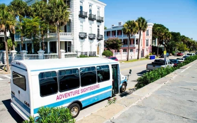 adventure sightseeing charleston bus tour