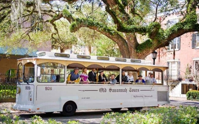 savannah hop on hop off trolley